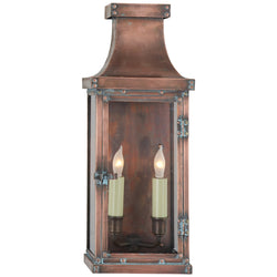 Visual Comfort CHO 2152NC Chapman & Myers Bedford Medium 3/4 Lantern in Natural Copper