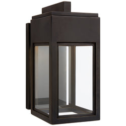 Visual Comfort CHO 2440BZ-CG Chapman & Myers Irvine Small Bracketed Wall Lantern in Bronze