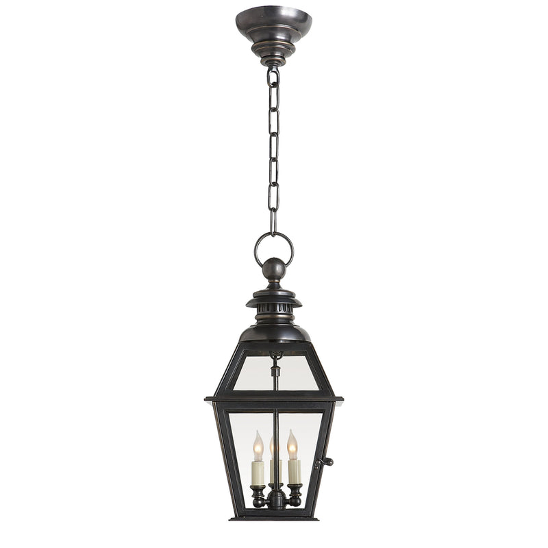 Visual Comfort CHO 5003BZ Chapman & Myers Chelsea Medium Hanging Lantern in Bronze