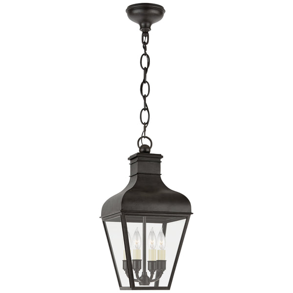 Visual Comfort CHO 5160FR-CG Chapman & Myers Fremont Small Hanging Lantern in French Rust