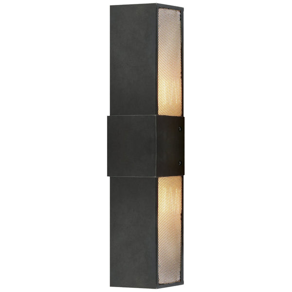 "Visual Comfort CL 2181AI Clodagh Bowery 18"" Wall Sconce in Aged Iron"