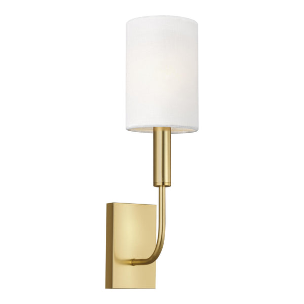 Generation Lighting EW1001BBS Ellen DeGeneres Brianna 1 Light Wall / Bath Light in Burnished Brass