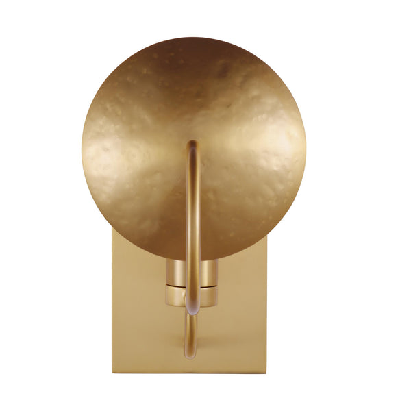 Generation Lighting EW1151BBS Ellen DeGeneres Whare 1 Light Wall / Bath Light in Burnished Brass