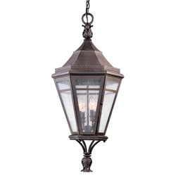 Troy Lighting F1277NR Morgan Hill 4lt Hanging Lantern Extra Large in Solid Brass