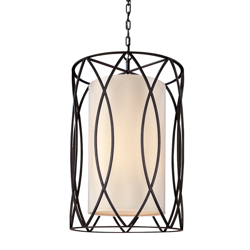Troy Lighting F1284DB Sausalito 4lt Pendant Medium in Hand-Worked Iron