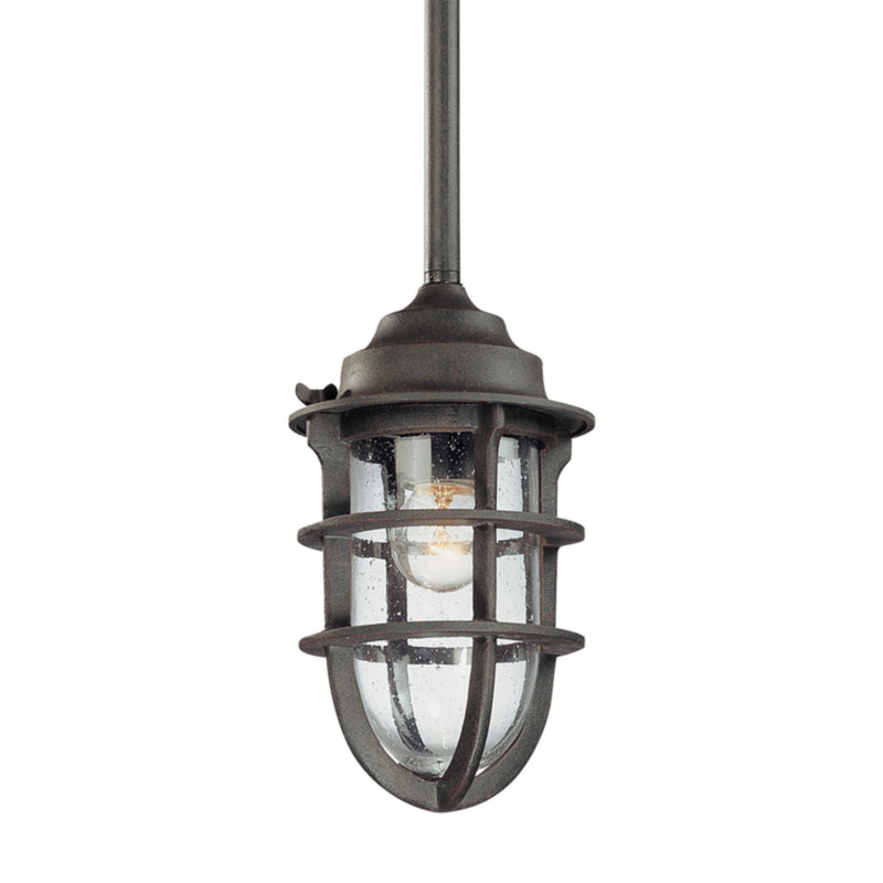 Troy Lighting F1860NR Wilmington 1lt Pendant Small in Cast Aluminum
