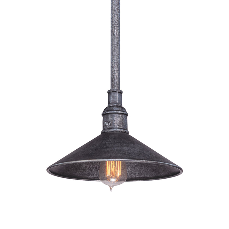 Troy Lighting F2773 Toledo 1lt Pendant Small in Hand-Worked Iron