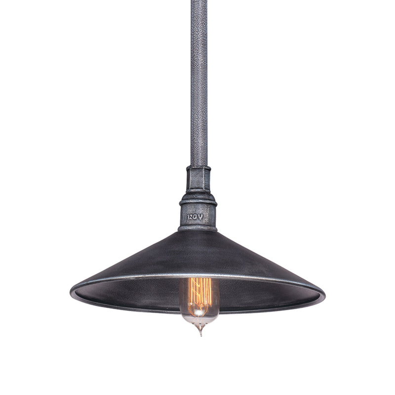 Troy Lighting F2774 Toledo 1lt Pendant Medium in Hand-Worked Iron