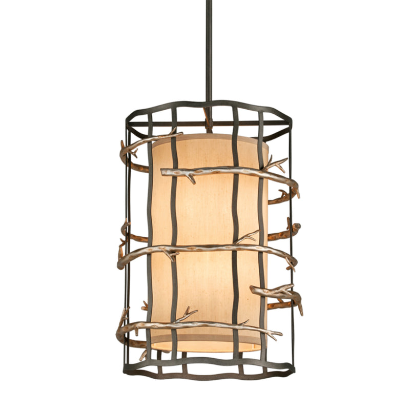 Troy Lighting F2884 Adirondack 6lt Pendant Entry Medium in Hand-Worked Iron