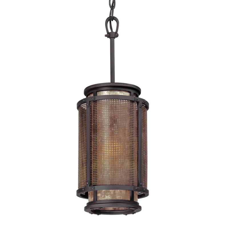 Troy Lighting F3102 Copper Mountain 1lt Pendant in Hand-Worked Iron