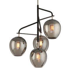 Troy Lighting F4296 Odyssey 4lt Pendant Medium in Hand-Worked Iron