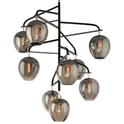 Troy Lighting F4298 Odyssey 9lt Pendant Entry Extra Large in Hand-Worked Iron