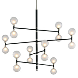 Troy Lighting F4827 Andromeda 16lt Chandelier 4 Tier Large in Hand-Worked Iron
