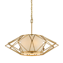Troy Lighting F4865 Calliope 6lt Pendant Large in Hand-Worked Iron