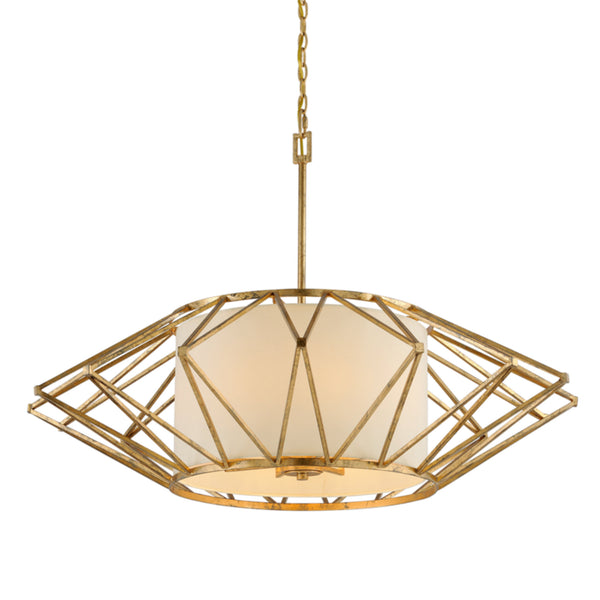 Troy Lighting F4866 Calliope 8lt Pendant Extra Large in Hand-Worked Iron