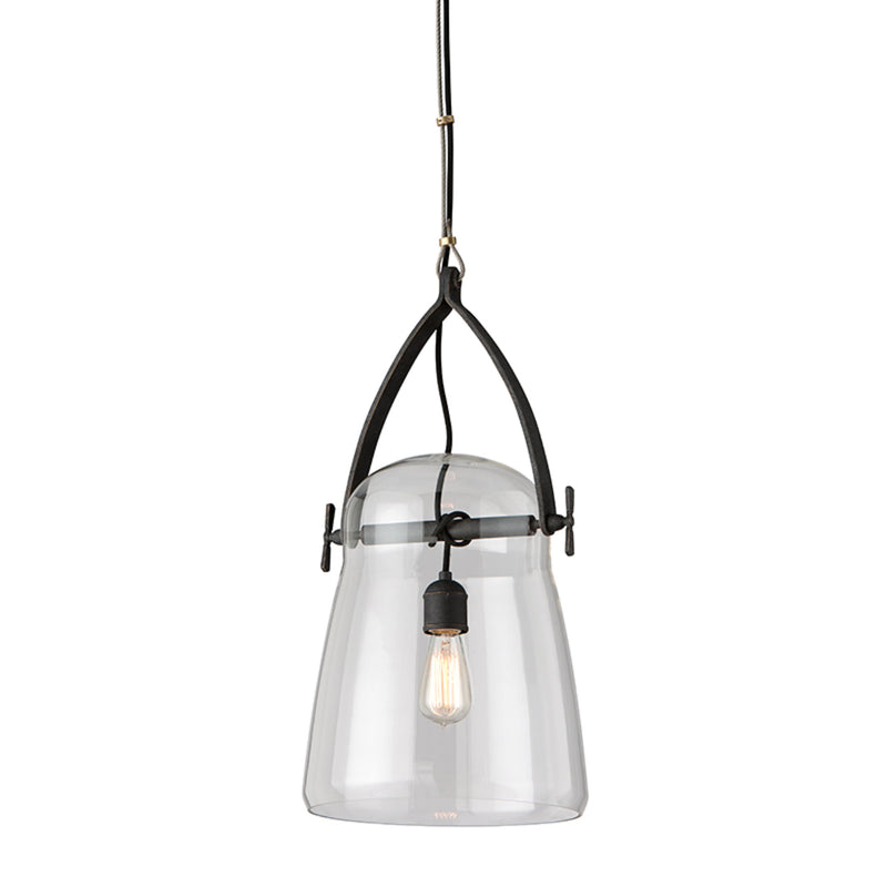 Troy Lighting F5225 Silverlake 1lt Pendant Medium in Hand-Worked Iron