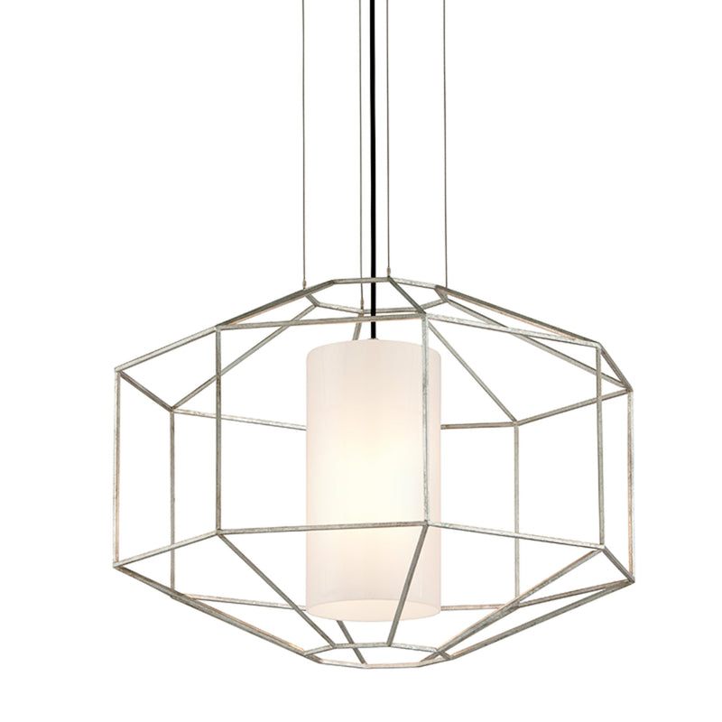 Troy Lighting F5256 Silhouette 1lt Pendant Large in Hand-Worked Iron