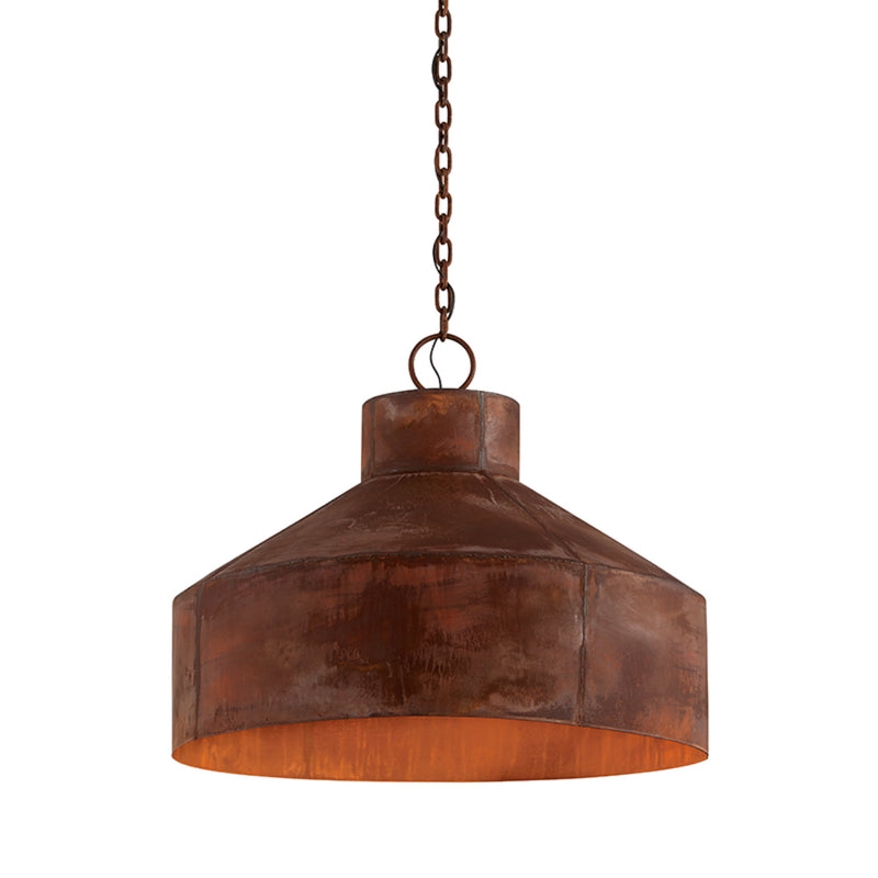 Troy Lighting F5265 Rise & Shine 5lt Pendant Large in Hand-Worked Iron