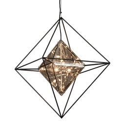 Troy Lighting F5326 Epic 6lt Pendant Medium in Hand-Worked Iron