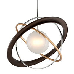 Troy Lighting F5514 Apogee 1lt Pendant Extra Large in Hand-Worked Iron