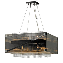 Troy Lighting F5906 Apollo 8lt Chandelier in Hand-Worked Iron