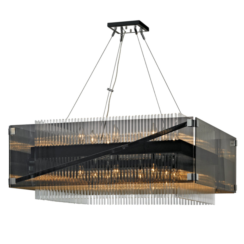 Troy Lighting F5907 Apollo 16lt Chandelier in Hand-Worked Iron