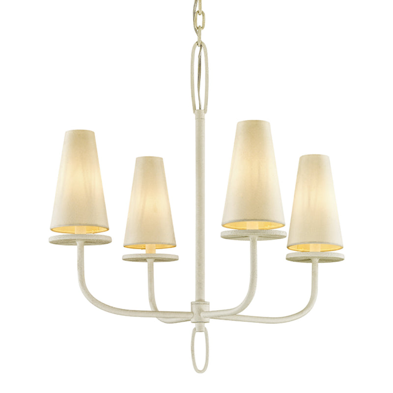 Troy Lighting F6285 Marcel 4lt Chandelier in Hand-Worked Iron