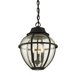 Troy Lighting F6457 Bunker Hill 3lt Hanger in Hand-Worked Iron