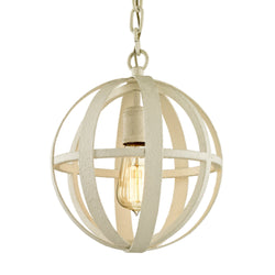 Troy Lighting F6551 Flatiron 1lt Pendant in Hand-Worked Iron