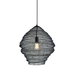 Troy Lighting F6772 Wabi Sabi 1lt Pendant in Hand-Worked Iron