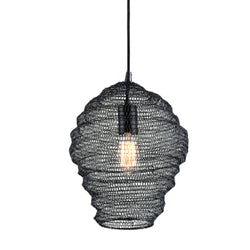 Troy Lighting F6773 Wabi Sabi 1lt Pendant in Hand-Worked Iron