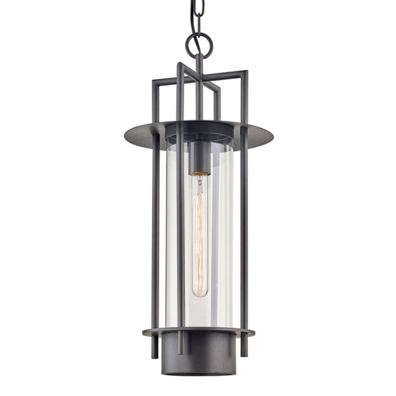 Troy Lighting F6817 Carroll Park 1lt Hanger in Hand-Worked Iron
