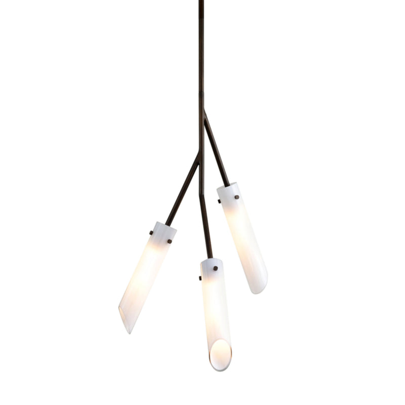 Troy Lighting F7225 High Line 3lt Pendant in Hand-Worked Iron