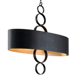 Troy Lighting F7237 Rivington 6lt Linear in Hand Forged Iron