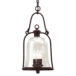 Troy Lighting F9467NB Owings Mill 3lt Hanging Lantern Large in Hand-Forged Iron