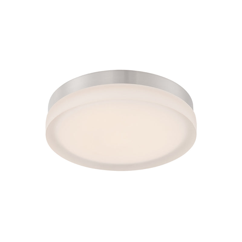 Modern Forms FM-2111-30-TT 3000K 30 Watt Circa LED Round Flush Mount in Titanium