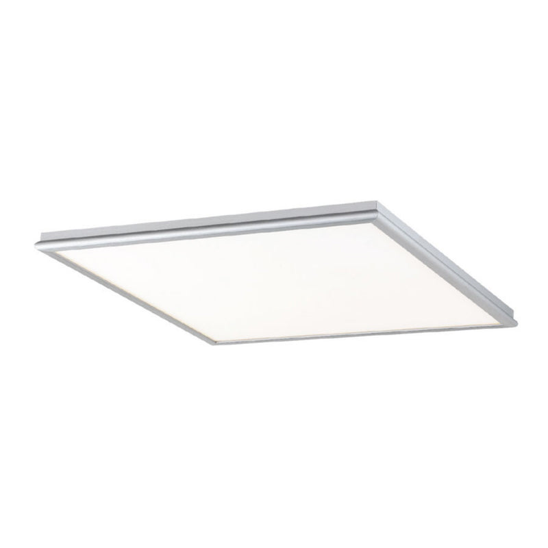 Modern Forms FM-3718-AL 3000K 48 Watt Neo LED Flush Mount in Brushed Aluminum