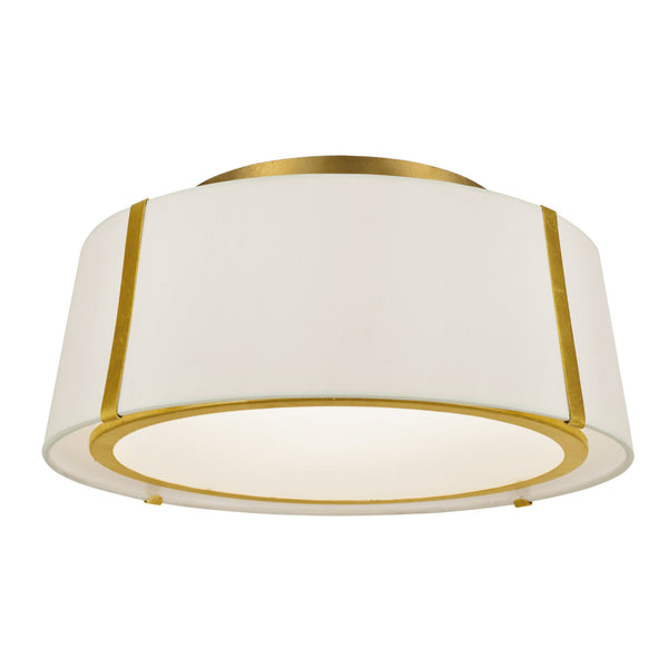 Crystorama FUL-905-GA Fulton Ceiling Mount in Antique Gold