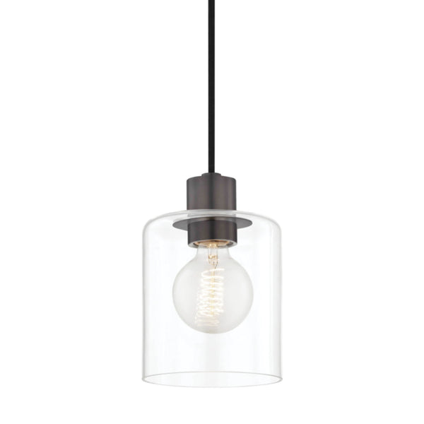Mitzi by Hudson Valley Lighting H108701-OB Neko 1 Light Pendant in Old Bronze