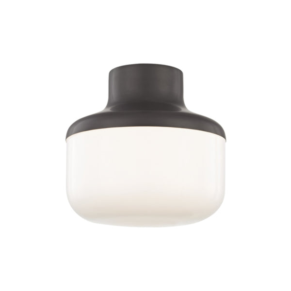Mitzi by Hudson Valley Lighting H144501S-OB Livvy 1 Light Flush Mount in Old Bronze