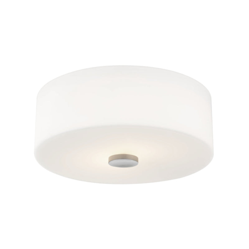 Mitzi by Hudson Valley Lighting H146502-PN Sophie 2 Light Flush Mount in Polished Nickel