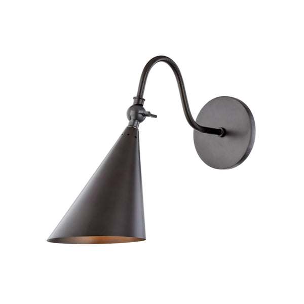 Mitzi by Hudson Valley Lighting H285101-OB Lupe 1 Light Wall Sconce in Old Bronze