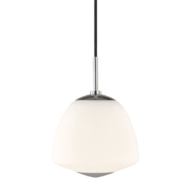 Mitzi by Hudson Valley Lighting H288701S-PN Jane 1 Light Small Pendant in Polished Nickel