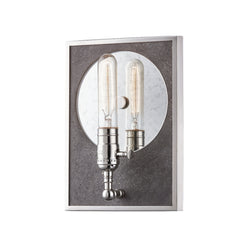 Mitzi by Hudson Valley Lighting H297101-PN Ripley 1 Light Wall Sconce in Polished Nickel