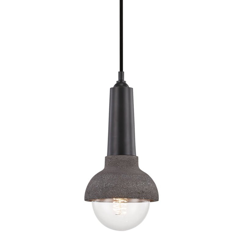 Mitzi by Hudson Valley Lighting H304701-OB Macy 1 Light Pendant in Old Bronze