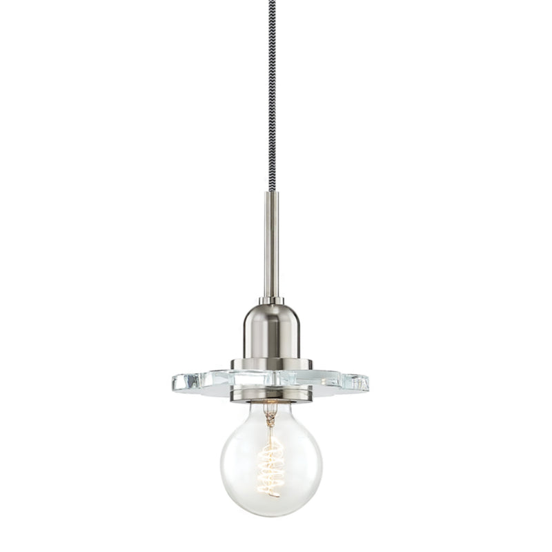 Mitzi by Hudson Valley Lighting H357701-PN Alexa 1 Light Pendant in Polished Nickel
