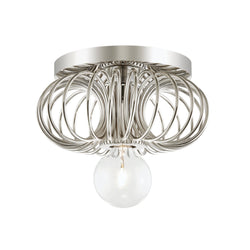 Mitzi by Hudson Valley Lighting H359301-PN Serena 1 Light Bath Bracket in Polished Nickel