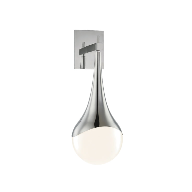 Mitzi by Hudson Valley Lighting H375101-PN Ariana 1 Light Wall Sconce in Polished Nickel
