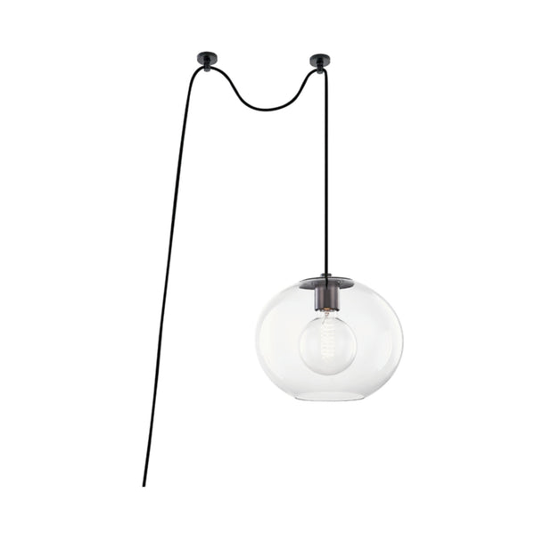 Mitzi by Hudson Valley Lighting HL270701L-OB Margot 1 Light Large Swag Pendant in Old Bronze