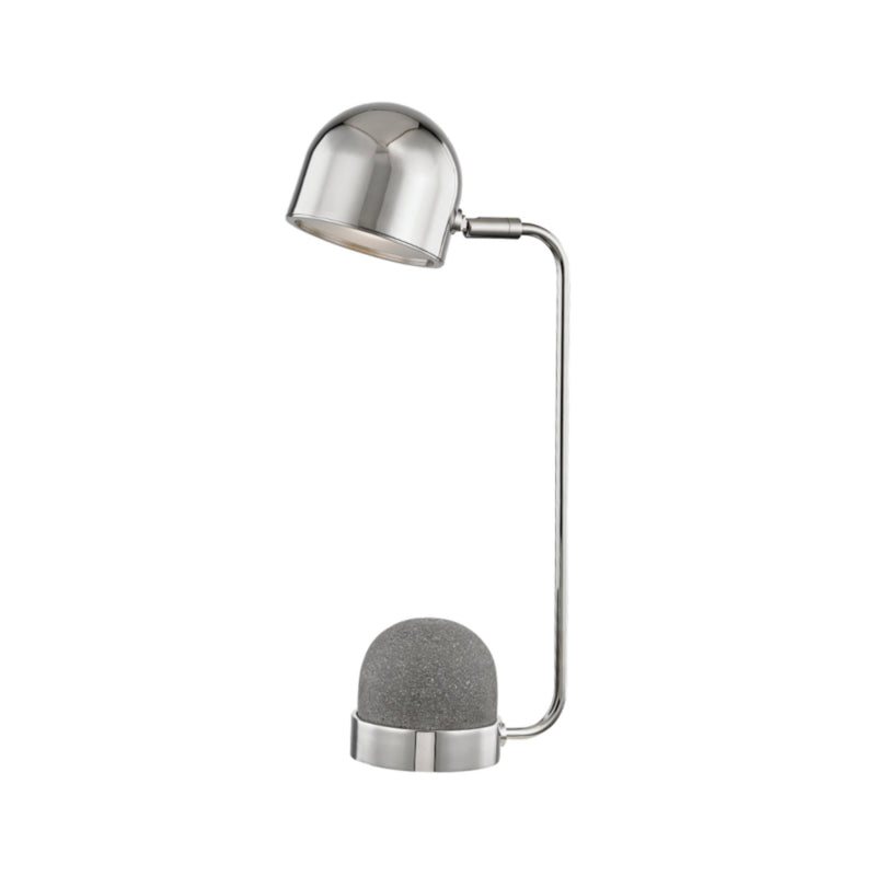 Mitzi by Hudson Valley Lighting HL298201-PN Nikki 1 Light Table Lamp in Polished Nickel